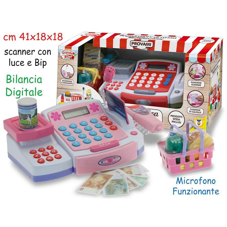 REGISTRATORE DI CASSA MULTIFUNZIONI CON BILANCIA