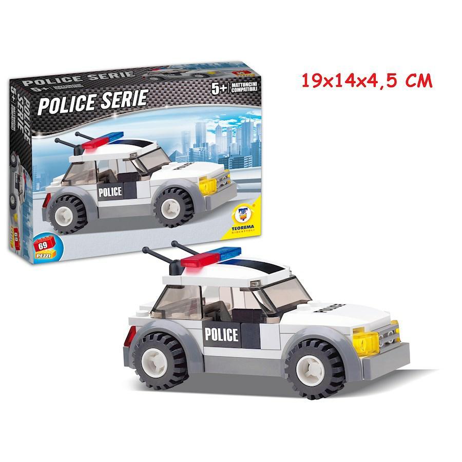 COSTRUZIONI CLICK CLACK AUTO POLICE 69PZ