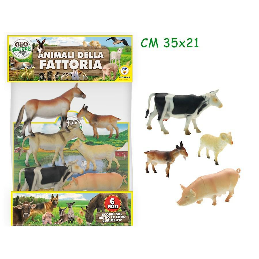ANIMALI FATTORIA 6PZ