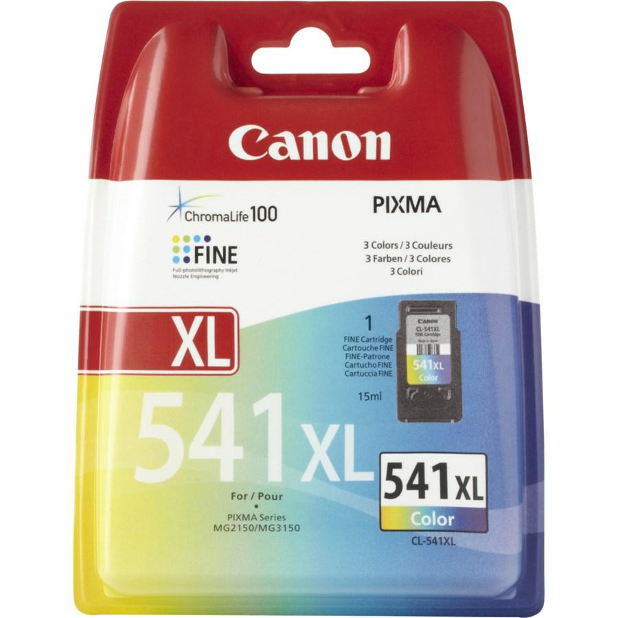 CANON INK-JET COLOR N.541XL*5226B004* MG2150/3150 PG480 CL-541XL