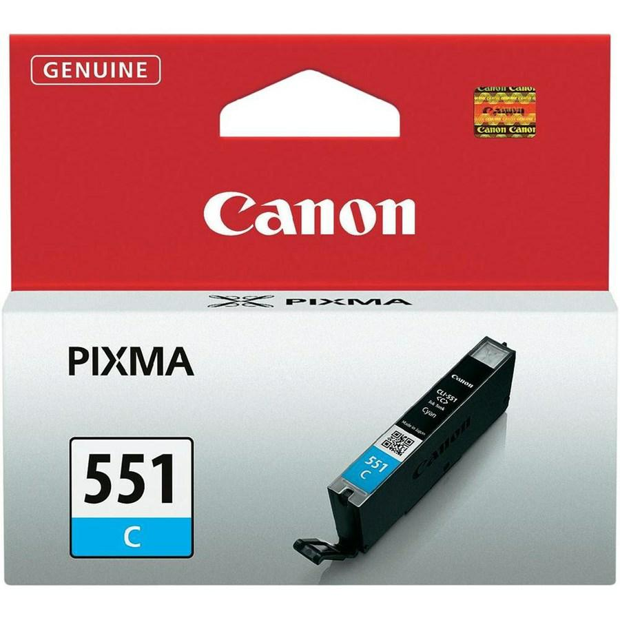 CANON INK-JET CIANO N.551 *6509B001* 7250/5450/5550/6350 CLI-551C