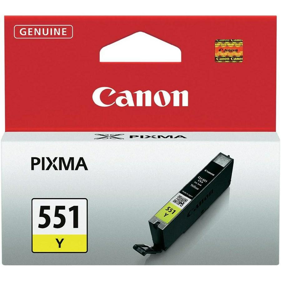 CANON INK-JET GIALLO N.551 *6511B001* 7250/5450/5550/6350 CLI-551Y
