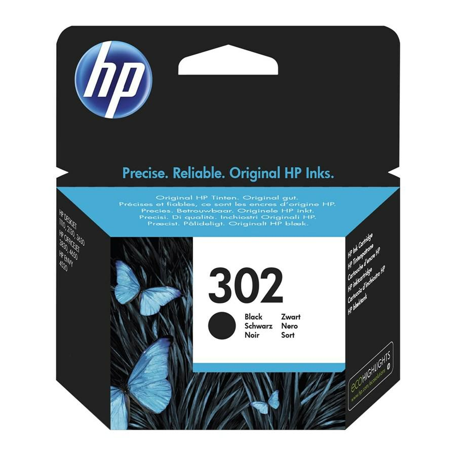 HP Ink-Jet Nero N.302 *F6U66A* pg190 4520/3830/4650/1110/2130/3630