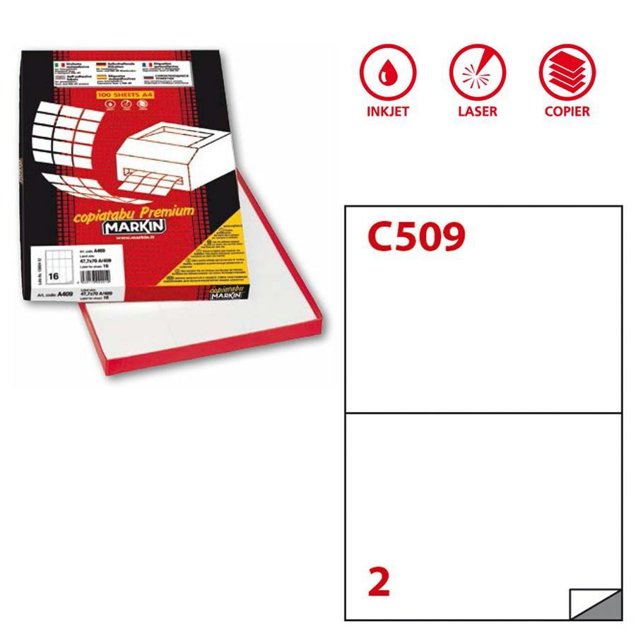 Etichette A4 Copy Laser ff100