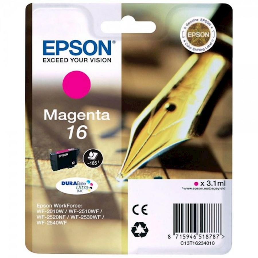 EPSON INK-JET MAGENTA N.16L*T162340* WF2510/2530/2010/2540