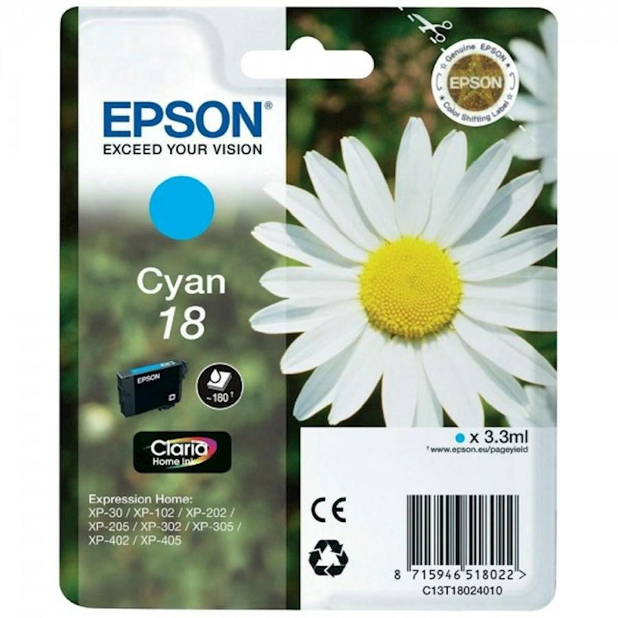 EPSON INK-JET CIANO N.18L *T180240* XP-402/405/305