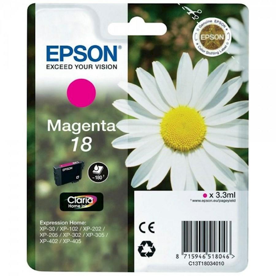 EPSON INK-JET MAGENTA N.18L*T180340* XP-402/405/305