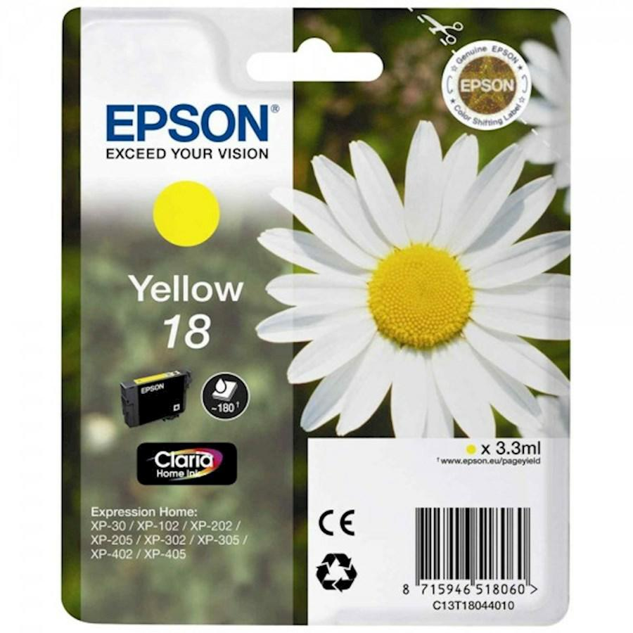 EPSON INK-JET GIALLO N.18L *T180440* XP-402/405/305