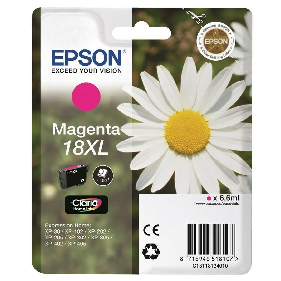 EPSON Ink-Jet Magenta N.18XL *T181340* XP-402/405/305
