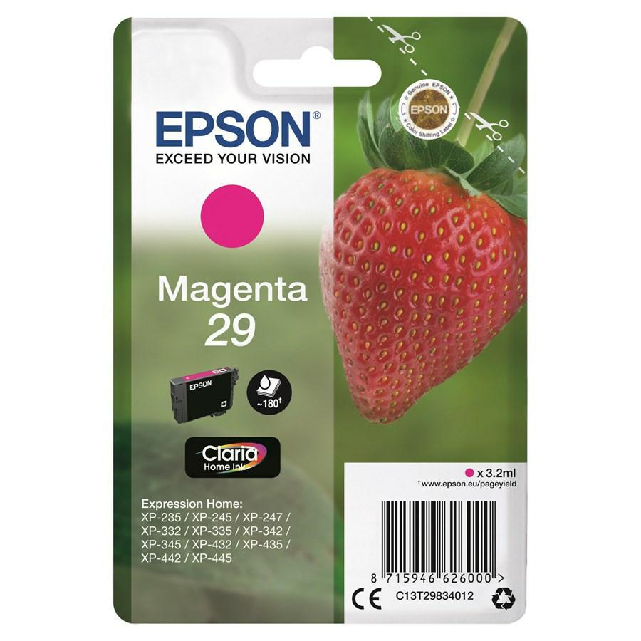 EPSON INK-JET MAGENTA T2983*T29834010* N.29 XP235/332/335/432/435