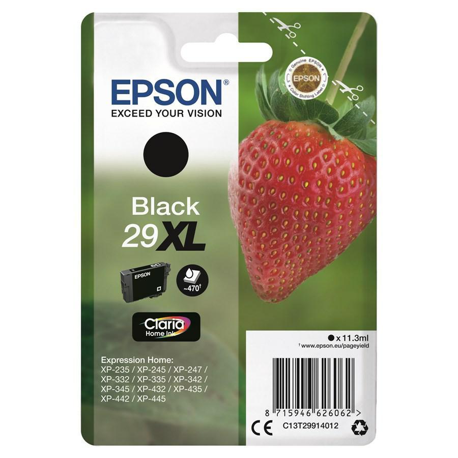 EPSON INK-JET NERO T2991 *T29914010* N.29XL XP235/332/335/432/435