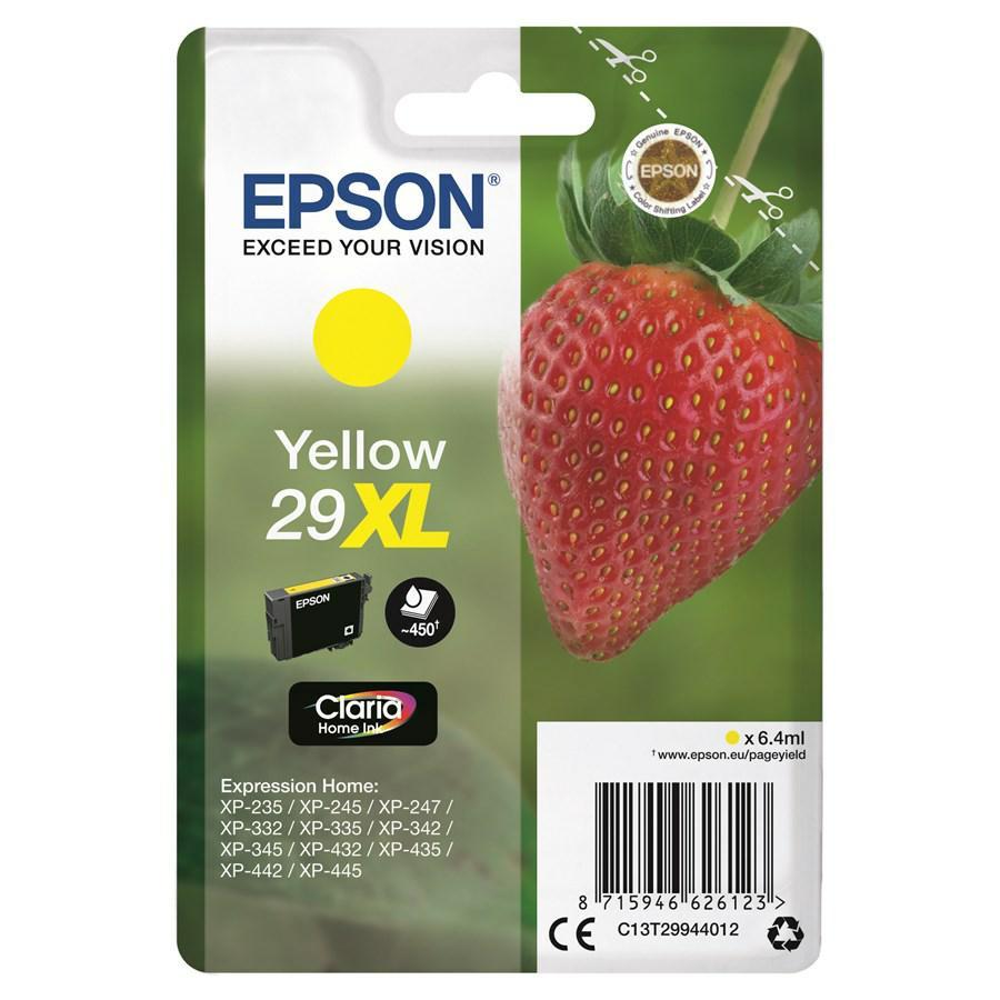 EPSON INK-JET GIALLO T2994 *T29944010* N.29XL XP235/332/335/432/435